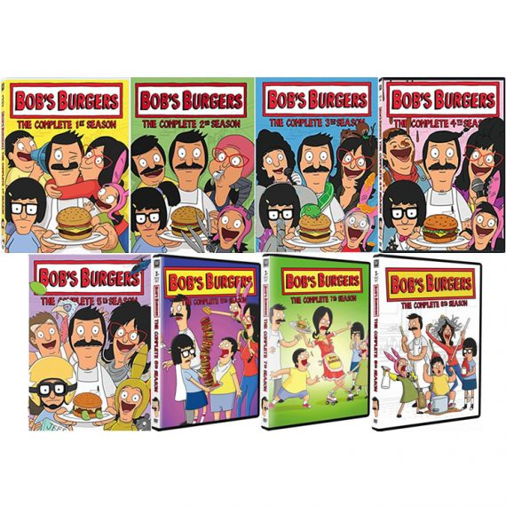 Bob's Burgers: The Complete Series 1-8 (for NZ Buyers)