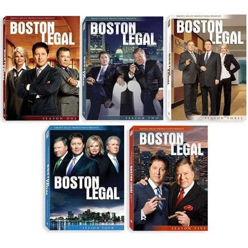 Boston Legal: The Complete Series 1-5 (for NZ Buyers)