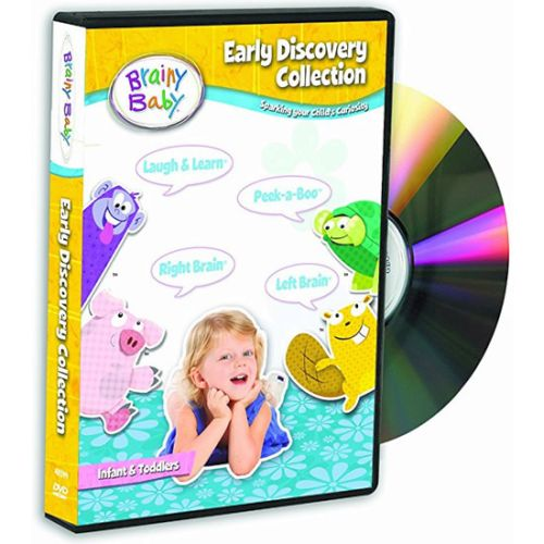 Brainy Baby Early Learning Collection: Animate DVD (for NZ Buyers)