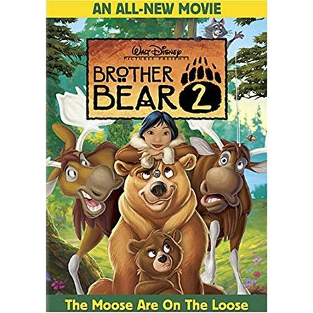 Brother Bear 2: Animate DVD (for NZ Buyers)