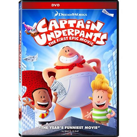 Captain Underpants: The First Epic Movie: Animate DVD (for NZ Buyers)