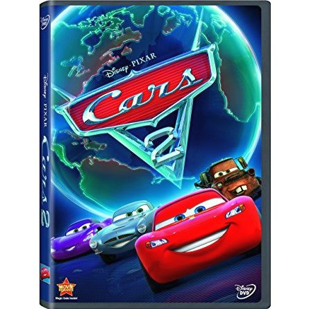 Cars 2: Animate DVD (for NZ Buyers)
