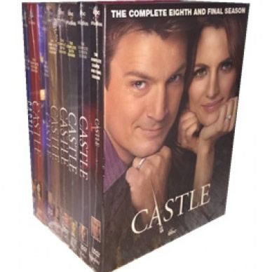 Castle: The Complete Series 1-8 (for NZ Buyers)