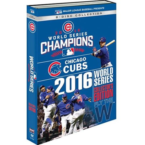 Chicago Cubs 2016 World Series DVD (for NZ Buyers)