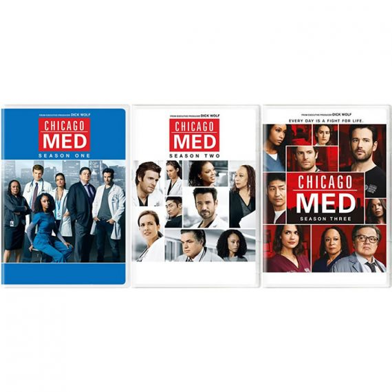 Chicago Med: The Complete Series 1-3 (for NZ Buyers)