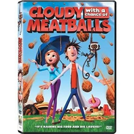 Cloudy with a Chance of Meatballs: Animate DVD (for NZ Buyers)