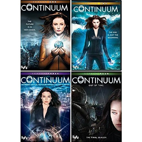 Continuum: The Complete Series 1-4 (for NZ Buyers)
