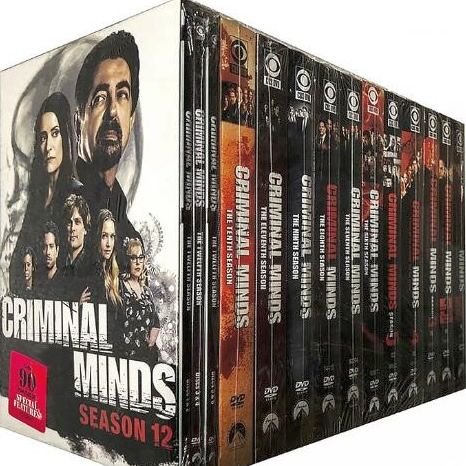 Criminal Minds: The Complete Series 1-12 (for NZ Buyers)