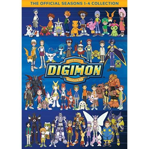 Digimon Seasons 1-4: Animate DVD (for NZ Buyers)