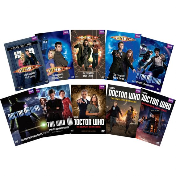 Doctor Who: The Complete Series 1-10 (for NZ Buyers)
