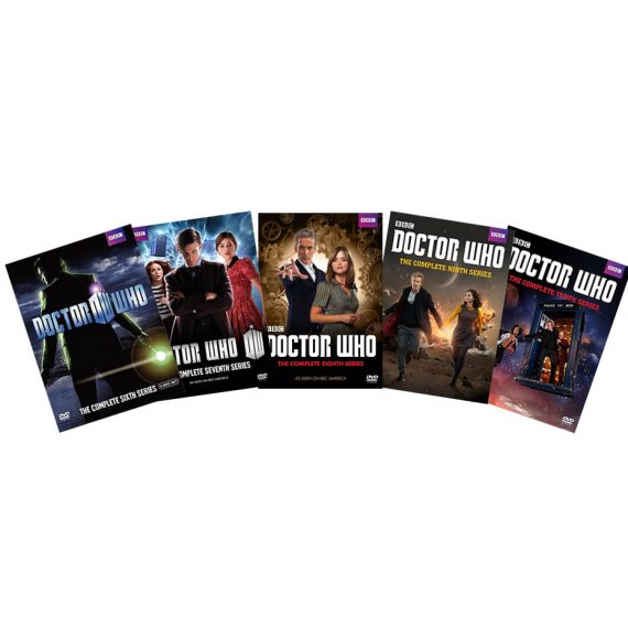Doctor Who: The Complete Series 6-10 (for NZ Buyers)
