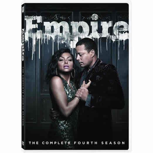 Empire - The Complete Season 4 DVD (for NZ Buyers)