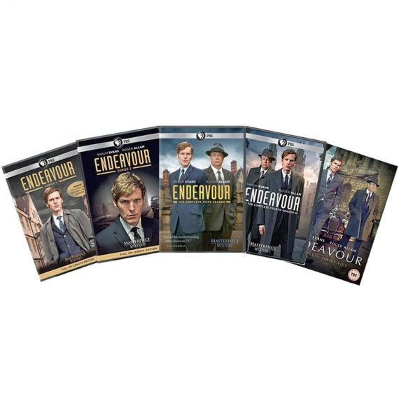 Endeavour: The Complete Series 1-5 (for NZ Buyers)