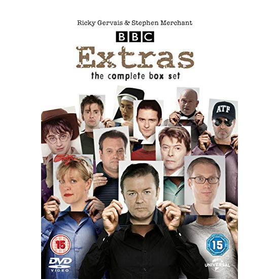 Extras The Complete Collection DVD (for NZ Buyers)