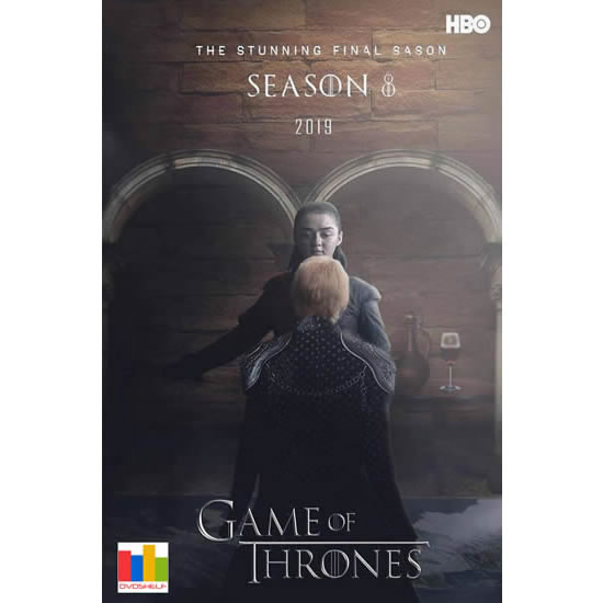 Game of Thrones - The Complete Season 8 DVD (for NZ Buyers)