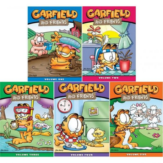 Garfield and Friends Seasons 1-5: Animate DVD (for NZ Buyers)