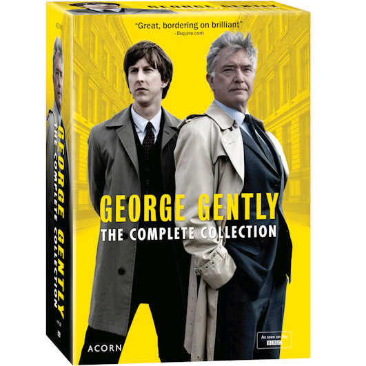 George Gently: The Complete Series 1-8 (for NZ Buyers)
