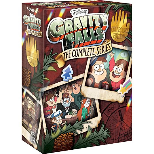 Gravity Falls: Animate DVD (for NZ Buyers)