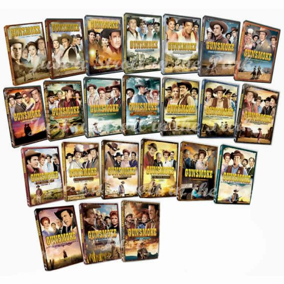 Gunsmoke: The Complete Series 1-12 (for NZ Buyers)