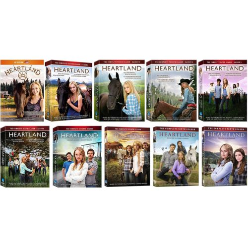 Heartland: The Complete Series 1-10 (for NZ Buyers)