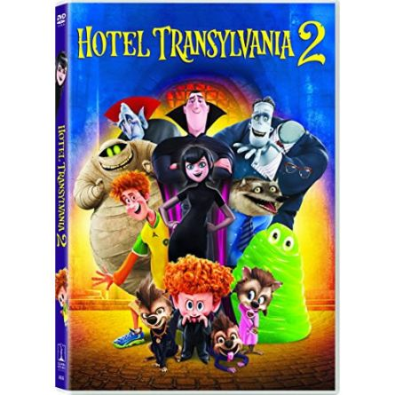 Hotel Transylvania 2: Animate DVD (for NZ Buyers)