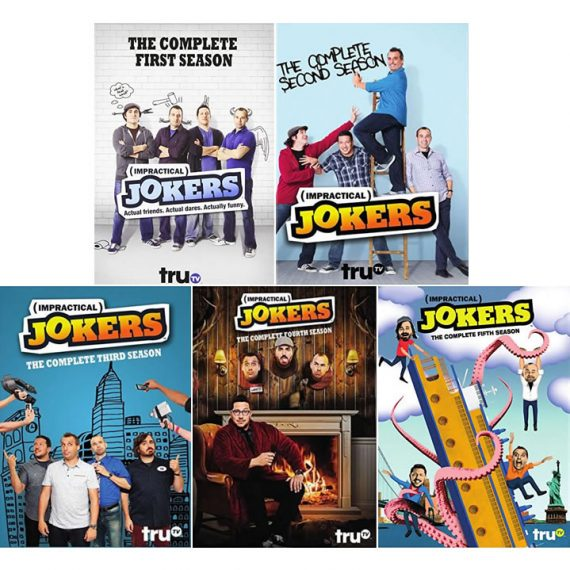 Impractical Jokers: The Complete Series 1-5 (for NZ Buyers)