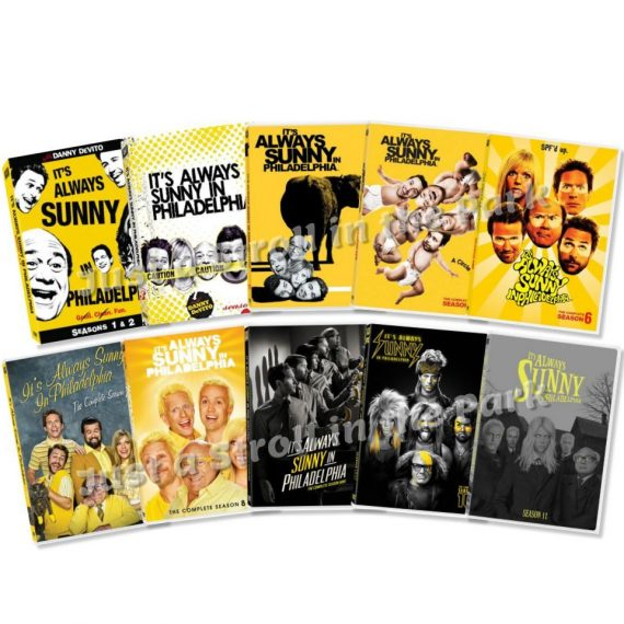 It's Always Sunny in Philadelphia: The Complete Series 1-11 (for NZ Buyers)