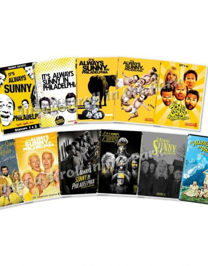 It's Always Sunny in Philadelphia: The Complete Series 1-12 (for NZ Buyers)