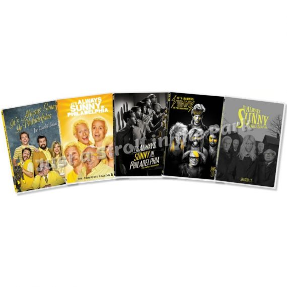 It's Always Sunny in Philadelphia: The Complete Series 7-11 (for NZ Buyers)