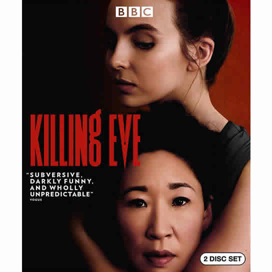 Killing Eve - The Complete Season 1 DVD (for NZ Buyers)