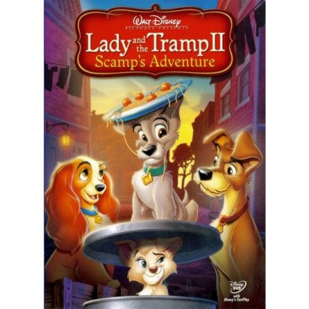 Lady & The Tramp II: Scamp's Adventure: Animate DVD (for NZ Buyers)