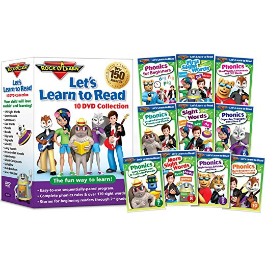 Let's Learn to Read by Rock N Learn: Animate DVD (for NZ Buyers)