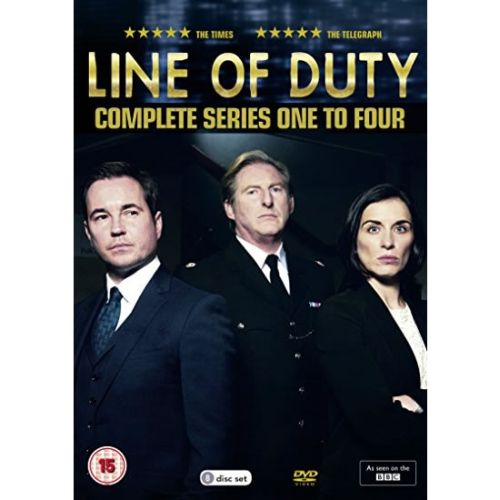 Line of Duty: The Complete Series 1-4 (for NZ Buyers)