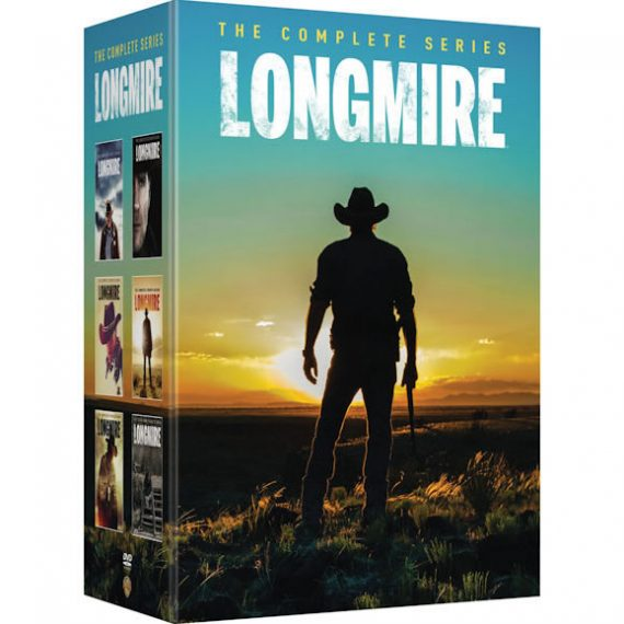 Longmire - The Complete Series (for NZ Buyers)