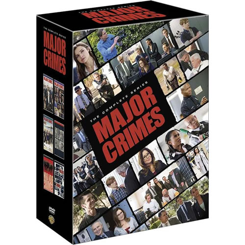 Major Crimes: The Complete Series 1-6 (for NZ Buyers)