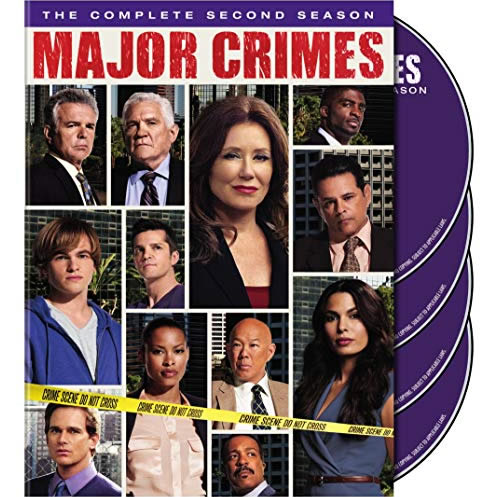 Major Crimes - The Complete Season 2 DVD (for NZ Buyers)