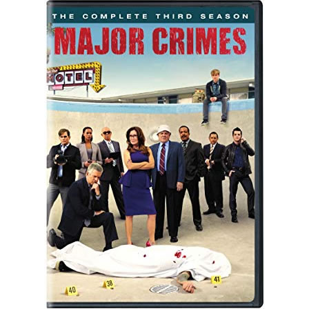 Major Crimes - The Complete Season 3 DVD (for NZ Buyers)