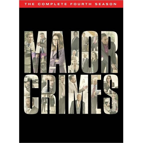 Major Crimes - The Complete Season 4 DVD (for NZ Buyers)