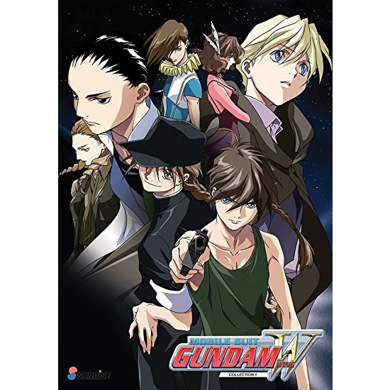 Mobile Suit Gundam Wing 1: Animate DVD (for NZ Buyers)