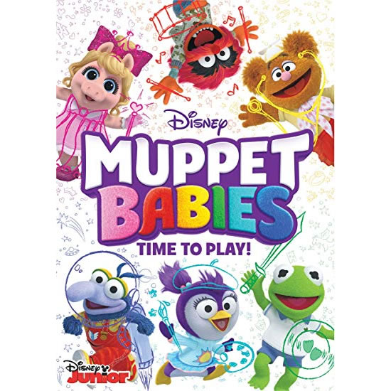 Muppet Babies Time To Play: Animate DVD (for NZ Buyers)