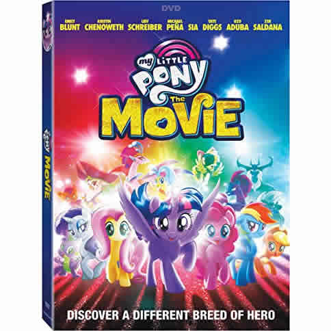 My Little Pony: The Movie: Animate DVD (for NZ Buyers)