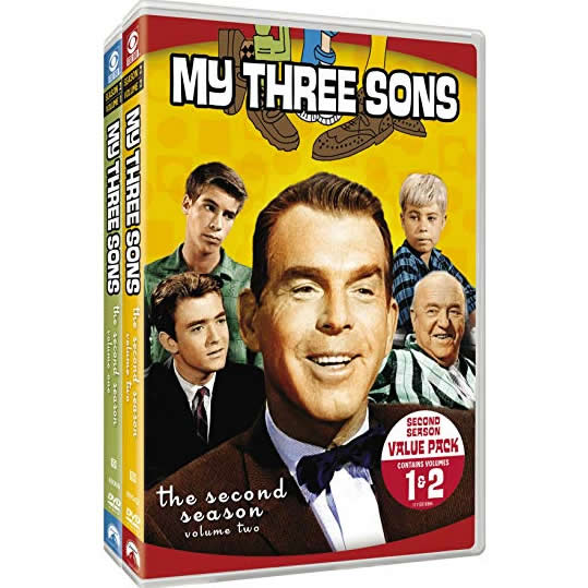 My Three Sons - The Complete Season 2 DVD (for NZ Buyers)