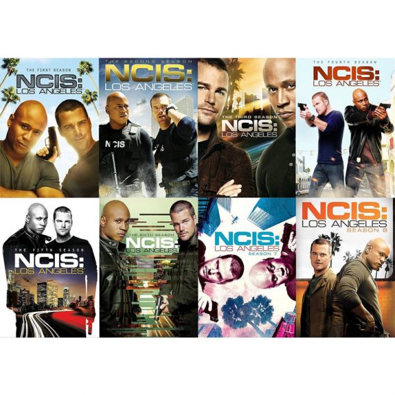 NCIS Los Angeles: The Complete Series 1-8 (for NZ Buyers)