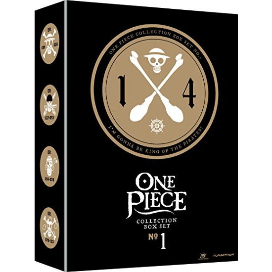 One Piece - Collection Box Set No. 1: Animate DVD (for NZ Buyers)