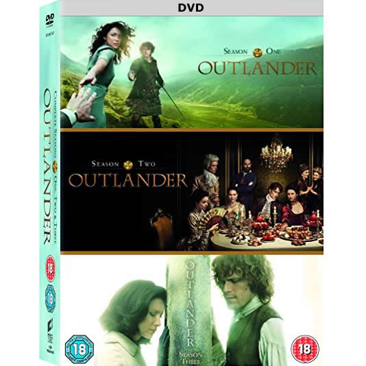 Outlander: The Complete Series 1-3 (for NZ Buyers)