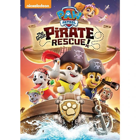 PAW Patrol: The Great Pirate Rescue!: Animate DVD (for NZ Buyers)