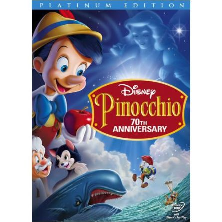 Pinocchio Platinum Edition: Animate DVD (for NZ Buyers)