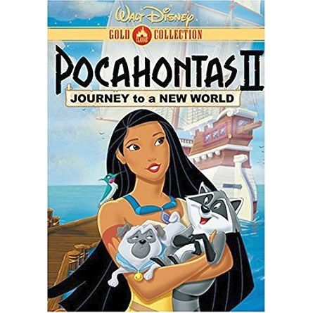 Pocahontas 2: Journey to a New World: Animate DVD (for NZ Buyers)