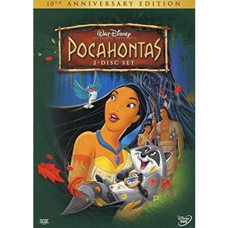 Pocahontas: Animate DVD (for NZ Buyers)