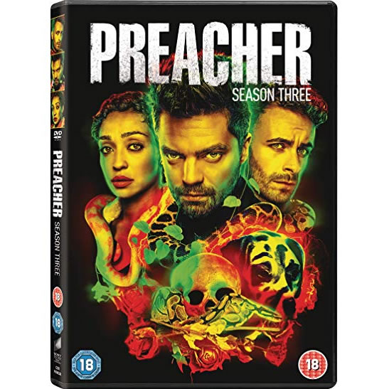 Preacher - The Complete Season 3 DVD (for NZ Buyers)